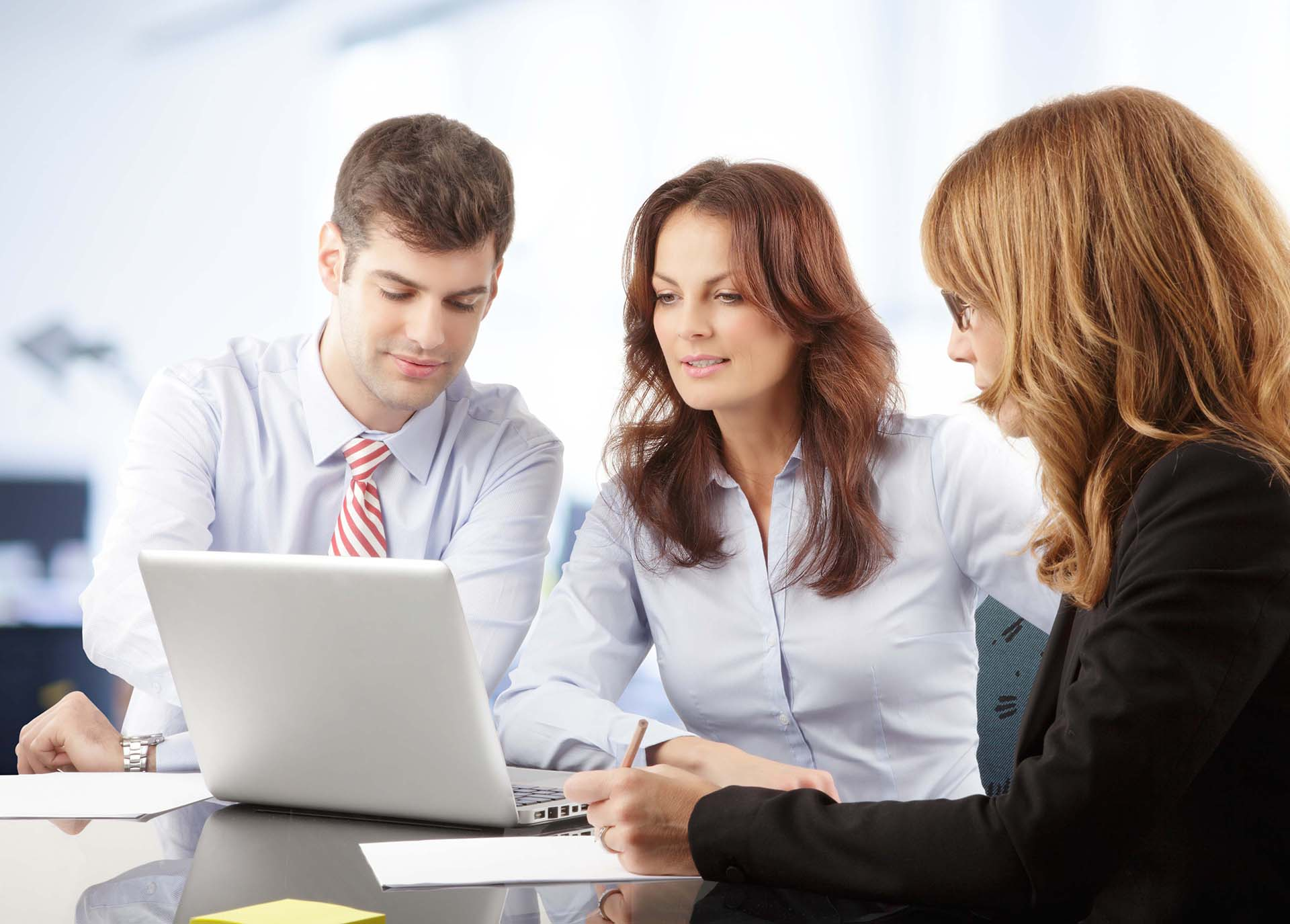 office staff Our staff is dedicated to building a long-lasting business partnership by providing quality services, flexibility, and dedicated support that our clients can.